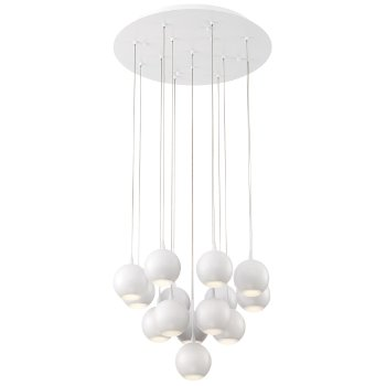 Patruno Round LED Multi-Light Pendant