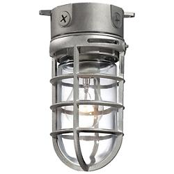 23265 Outdoor Flushmount (Satin Nickel) - OPEN BOX RETURN
