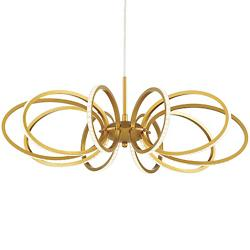 Tela LED Pendant (Gold) - OPEN BOX RETURN