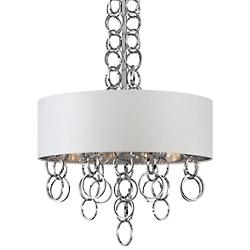 Novello Pendant (Chrome/White/4 Lights) - OPEN BOX RETURN