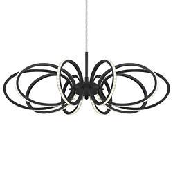 Tela LED Chandelier (Black) - OPEN BOX RETURN