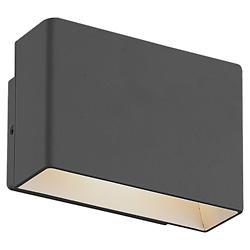 Vello LED Outdoor Wall Sconce (Graphite Grey) - OPEN BOX