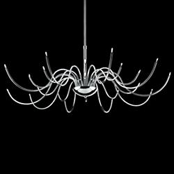 Kasper 210259Light Chandelier (Chrome) - OPEN BOX RETURN