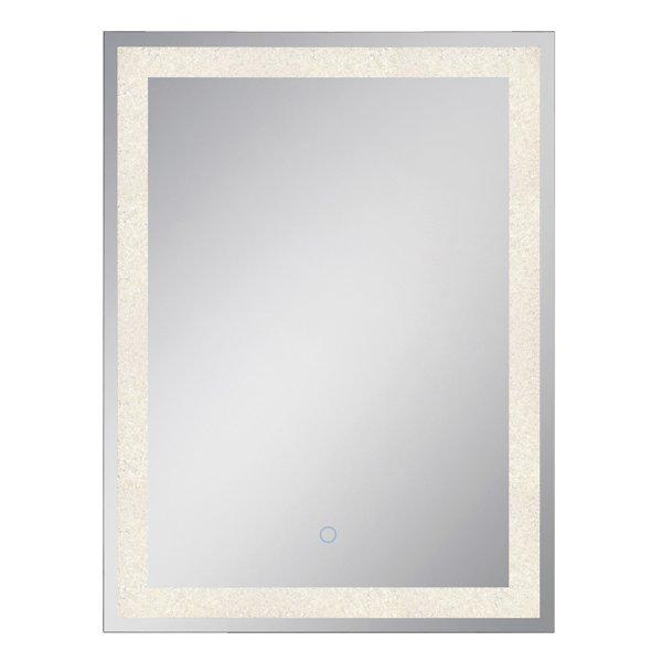 Rectangular Back-Lit LED Mirror