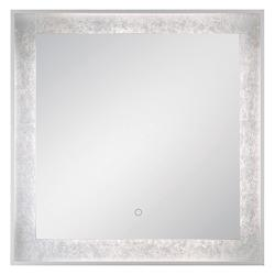 Edge-Lit Square LED Mirror