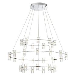 Netto 3-Tier LED Ring Chandelier