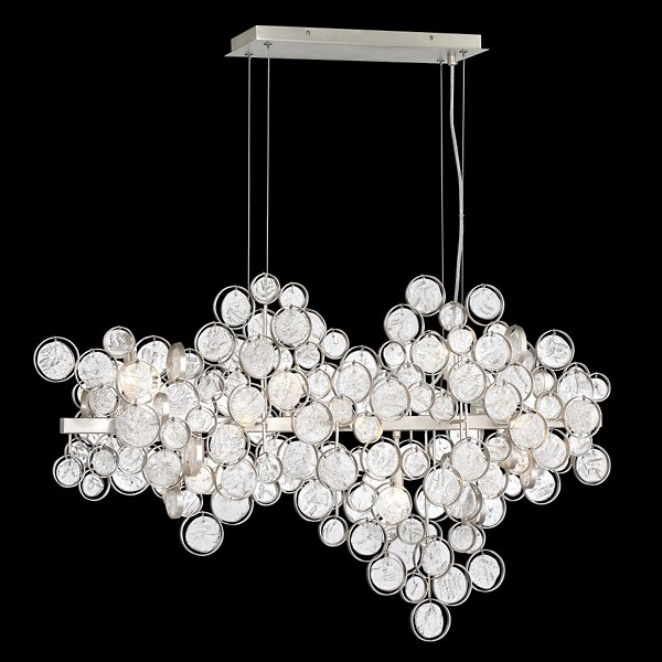 Trento Clustered Glass Linear Suspension