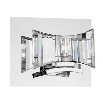Shown in Clear, Chrome finish