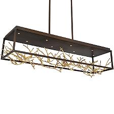 Aerie LED Linear Chandelier Light