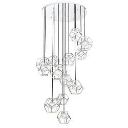 Norway LED Multi-Light Pendant
