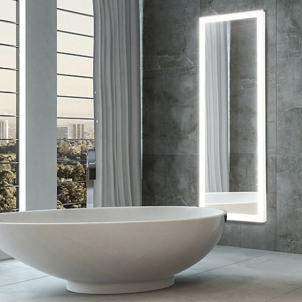 Linear Edge-Lit LED Mirror