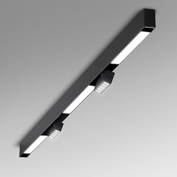Conruct 6 Ft Surface Mount with Diffused & Multi Spot Lights