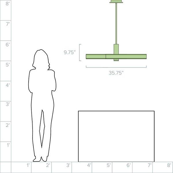 Cameno LED Linear Suspension