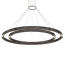 Admiral 2-Tier Round LED Chandelier