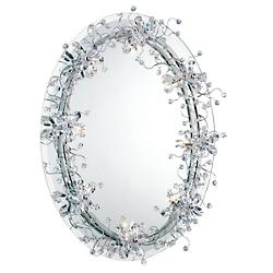 Relic Oval Mirror