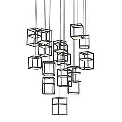 Ferro LED Multi-Light Pendant