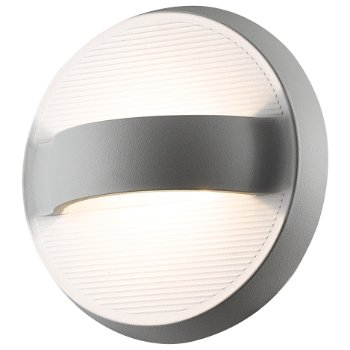 Bay led outdoor wall sconce by eurofase at for Low profile exterior wall lights