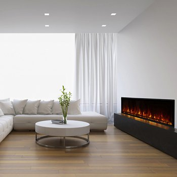 Electric Firebox, 80-inch