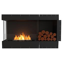 Flex Firebox - Left Corner with Decorative Sides