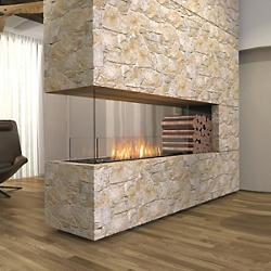 Flex Firebox - Peninsula with Decorative Sides