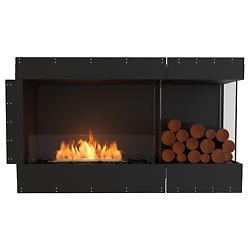 Flex Firebox - Right Corner with Decorative Sides