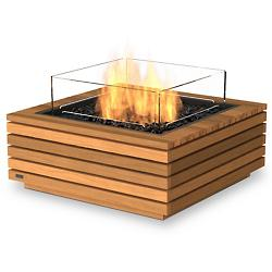 Base 30 Teak Freestanding Firepit
