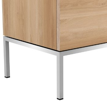 Shown in Stainless Steel leg finish