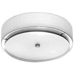 Iris Flushmount (White/Incandescent/Small) - OPEN BOX RETURN