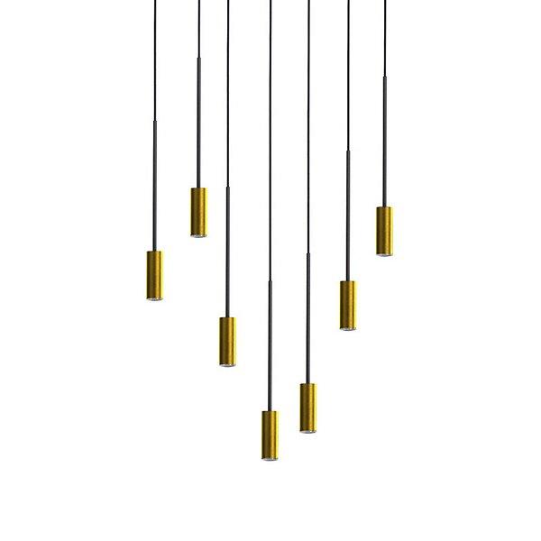 Volta R70.7S Round Multi-Light Pendant