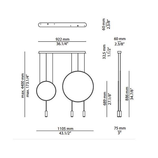 Revolta L92.1S1D Linear Suspension