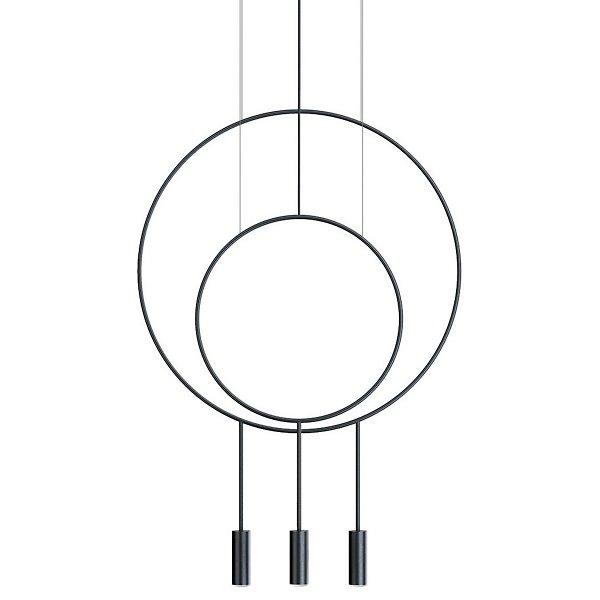 Revolta R40.1S1D Round Multi-Light Pendant