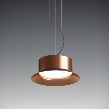 Shown lit in Copper finish, Small size