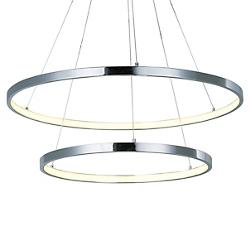 Hoops LED 2-Tier Pendant