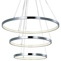 Hoops LED 3-Tier Pendant