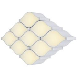 Billow 9-Light LED Wall Sconce / Semi-Flushmount