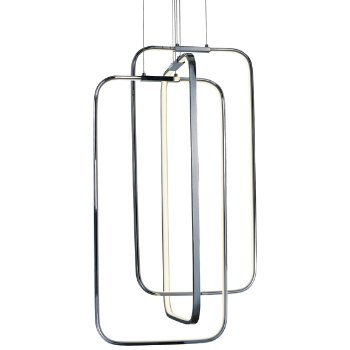 Squared LED Long Pendant