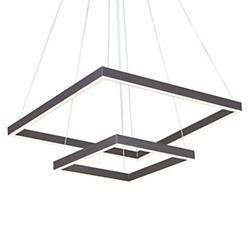 Quad 2-Tier LED Pendant