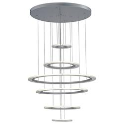 Saturn II LED Large Multi-Light Pendant