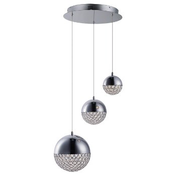 Eclipse LED Multi-Light Pendant