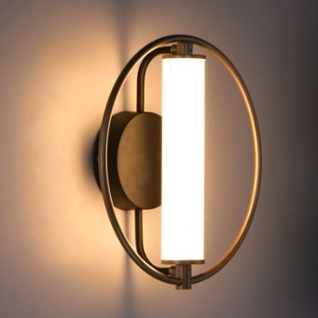 Flare LED Wall Sconce, in use