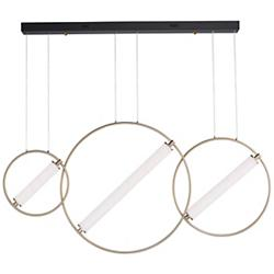 Flare LED Linear Suspension