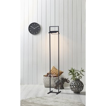 Glider LED Floor Lamp, in use