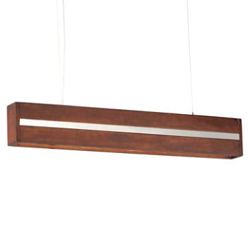 Shown in Antique Pecan with Brushed Champagne finish, 40 Inch