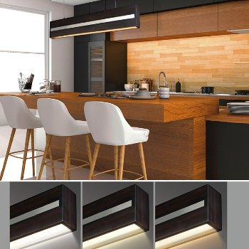 Shown in Wenge with Polished Chrome finish, 40 Inch
