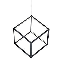 4 Square LED Pendant