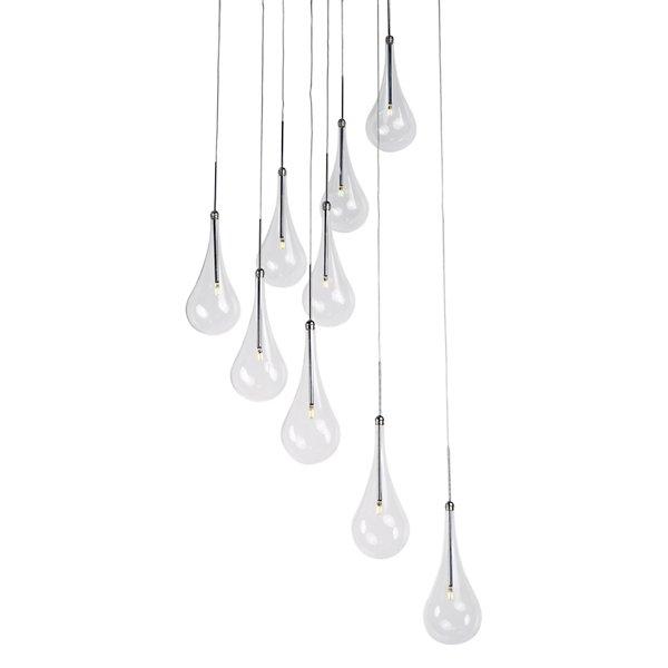 Larmes Led 9 Light Pendant By Et2