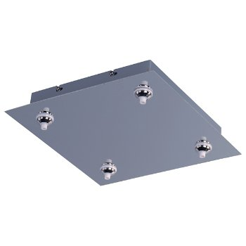 RapidJack LED 4-Light Square Canopy