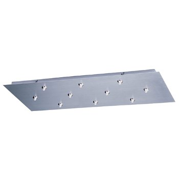 RapidJack LED 10-Light Rectangle Canopy