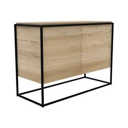 Oak Monolit Sideboard - 2 Doors