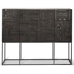 Ancestors Tabwa High Sideboard - 4 Doors - 4 Drawers